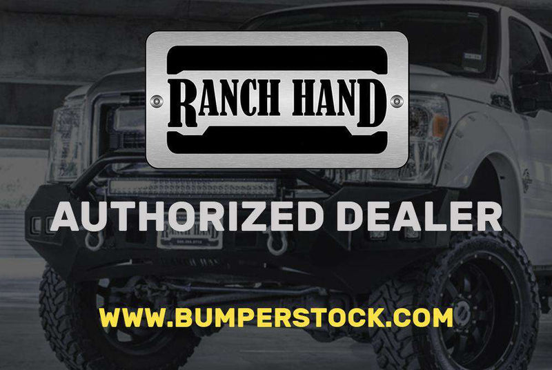 Ranch Hand SBC111BLSL 2011-2014 Chevy Silverado 2500/3500 HD Sport Rear Bumper-BumperStock