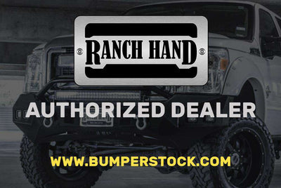 Ranch Hand SBD031BLL 2003-2009 Dodge Ram 2500/3500 Sport Rear Bumper - Lighted (No side steps)-BumperStock