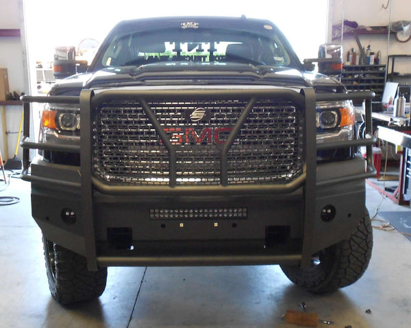 Steelcraft 60 10460 Hd Elevation Gmc 2500 Front Bumper
