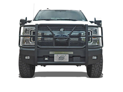 Steelcraft 60-11380CC 2017-2018 Ford F250/F350 Super Duty HD Elevation Front Bumper-BumperStock