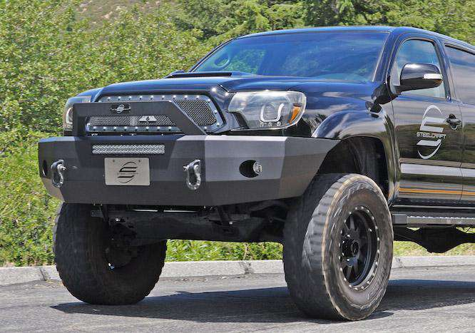 Steelcraft 70-13370 Toyota Tacoma 2005-2015 HD Elevation Bullnose Front Bumper