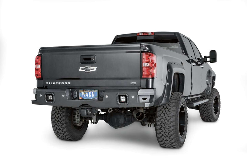 Warn 96550 Chevy Silverado 1500 2014-2019 Ascent Rear Bumper-BumperStock