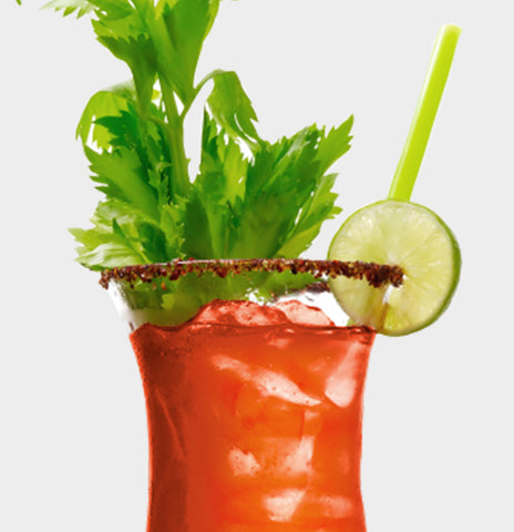 Bloody Mary Whiskey Sour