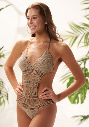 espuma crochet one piece