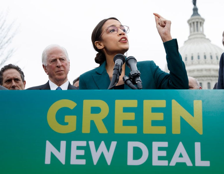 What's this Green New Deal?