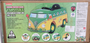 TMNT VW Kombi Bus 6V Ride On