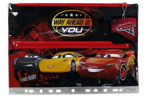DISNEY Cars Stationery PVC Large Pencil Case