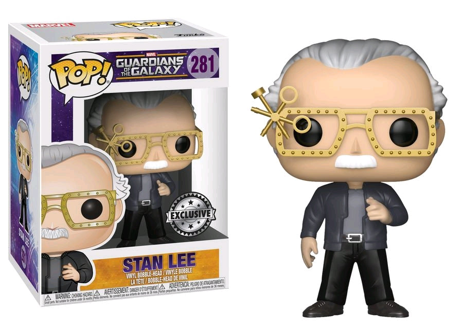 Stan Lee - Cameo Guardians of the Galaxy US Exclusive Pop Vinyl! 281