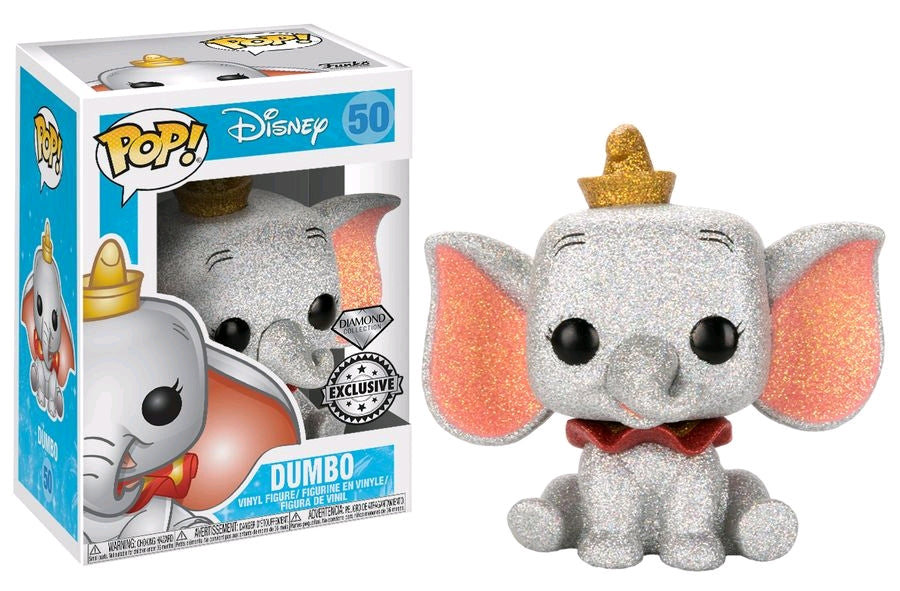 Dumbo - Dumbo Diamond Glitter US Exclusive Pop Vinyl! 50