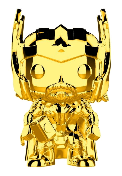 Marvel Studios 10th Anniversary - Thor Gold Chrome Pop Vinyl! 381