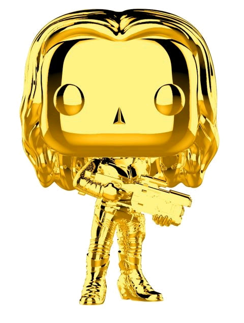 Marvel Studios 10th Anniversary - Gamora Gold Chrome Pop Vinyl! 382
