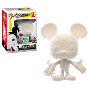 Mickey Mouse - 90th Mickey Mouse (DIY) US Exclusive Pop Vinyl! 01