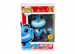 Aladdin - Genie with Lamp GLOW IN THE DARK Pop Vinyl! 476