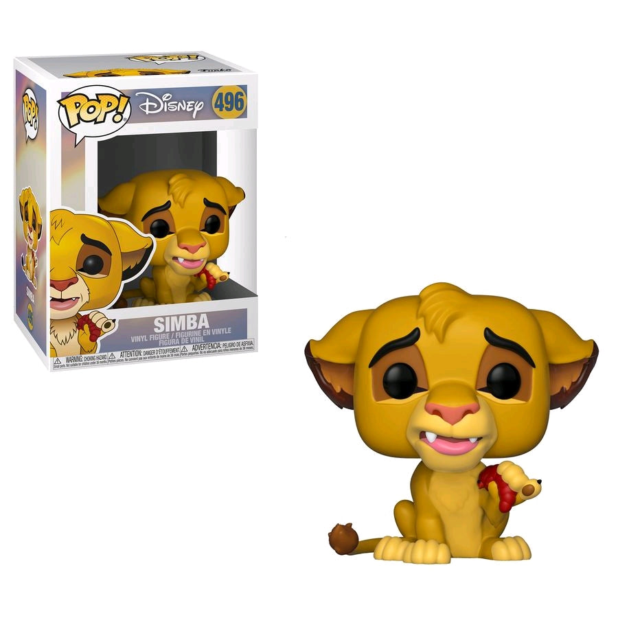 Lion King - Simba with Bug Pop Vinyl! 496