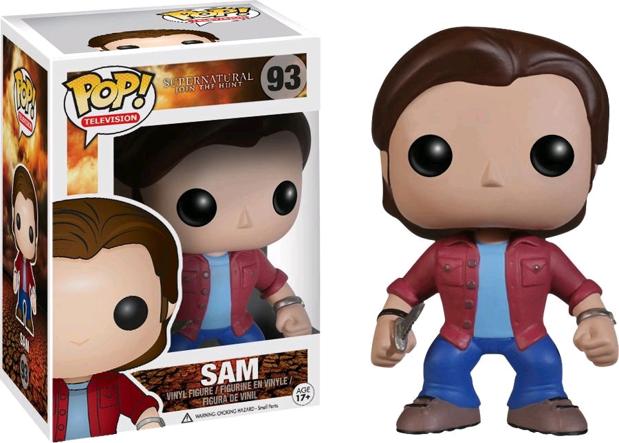 Supernatural Sam Pop Vinyl! 93