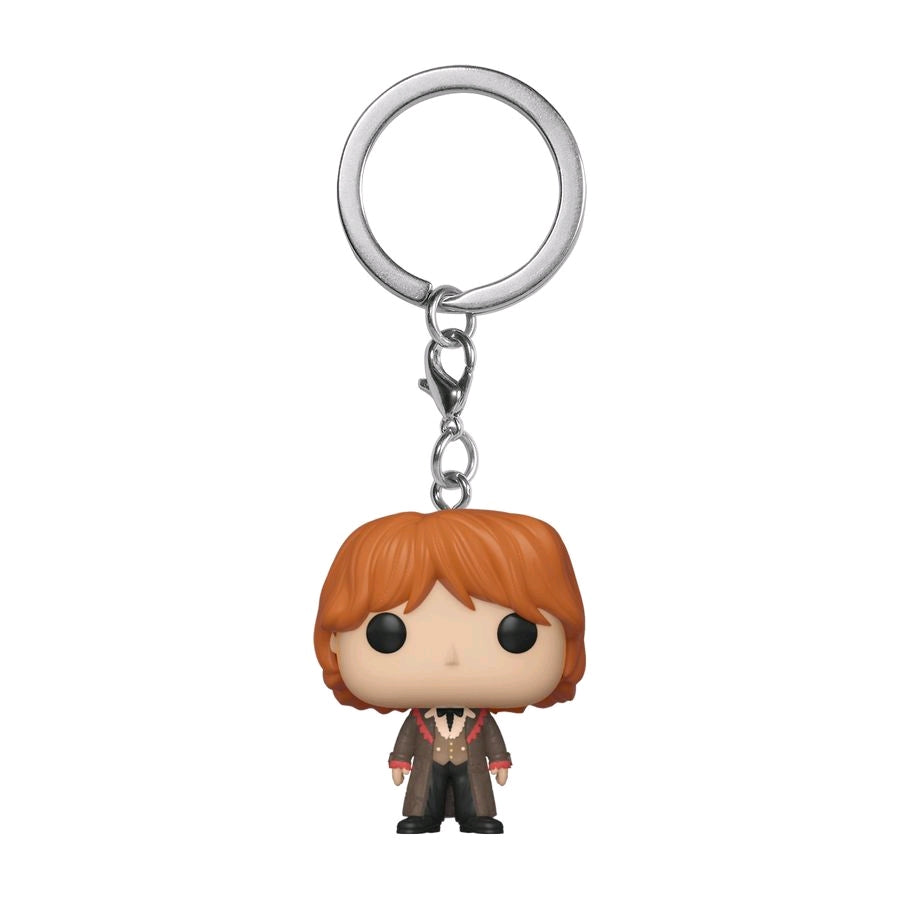 Harry Potter Ron Weasley Yule Pocket Pop Keychain