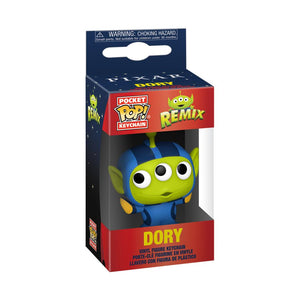 Pixar Alien Remix Dory Pocket Pop Keychain