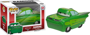 Cars Ramone with Green Paint Deco US Exclusive Pop Vinyl! 138