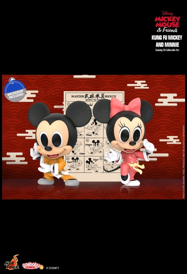 Mickey Mouse Kung Fu Mickey & Minnie Cosbaby Set