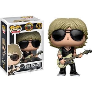 Guns 'n' Roses Duff McKagan Pop Vinyl! 52