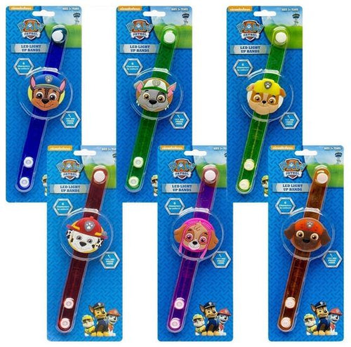 Paw Patrol LED Light Up Bands assorted
