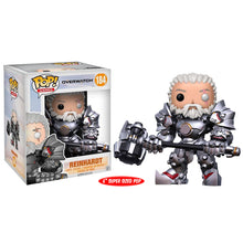 "Overwatch - Reinhardt Unmasked US Exclusive 6"" Pop Vinyl! 184"