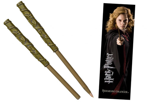 HARRY POTTER Hermione Wand Pen and Bookmark