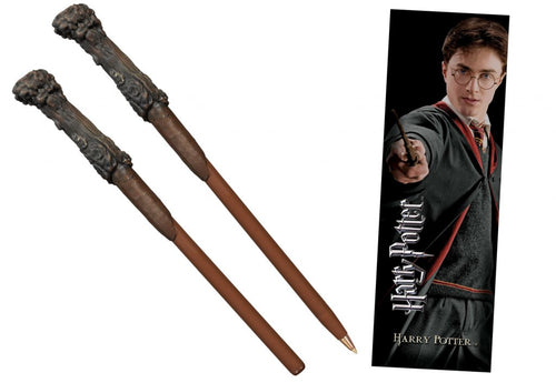 HARRY POTTER Harry Wand Pen and Bookmark