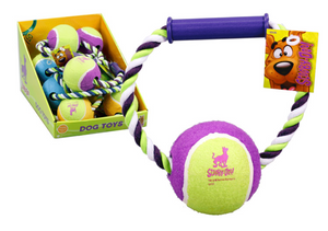 Scooby-Doo Rope Toy With Tennis Ball