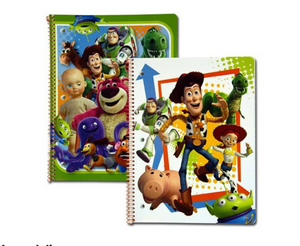 Toy Story 50 Sheet Spiral Note Theme Books