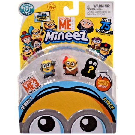 Despicable Me 3 Mineez Series 1 Pack of 3
