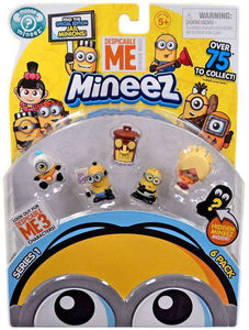 Despicable Me 3 Mineez Series 1 Pack of 6