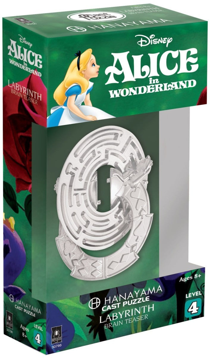 Disney Cast Labyrinth Puzzle - Alice in Wonderland