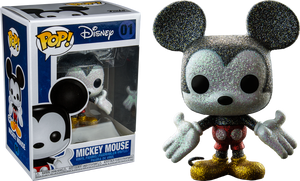 Mickey Mouse - Mickey Mouse Diamond Glitter US Exclusive Pop Vinyl! 01