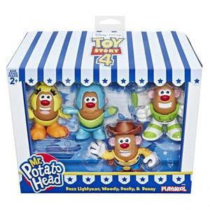 Toy Story 4 Mr Potato Head Mini Character 4 Pack