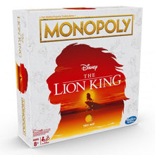 Monopoly - Disney Lion King Edition Board Game with Musical Stand