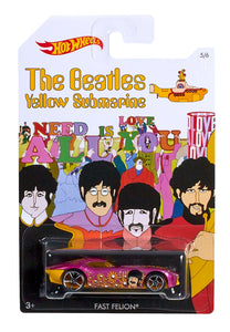 Hot Wheels - Yellow Submarine - Limited Edition  Diecast 1:64