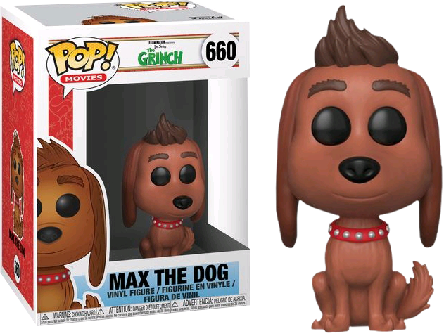 The Grinch (2018) - Max the Dog Pop Vinyl! 660