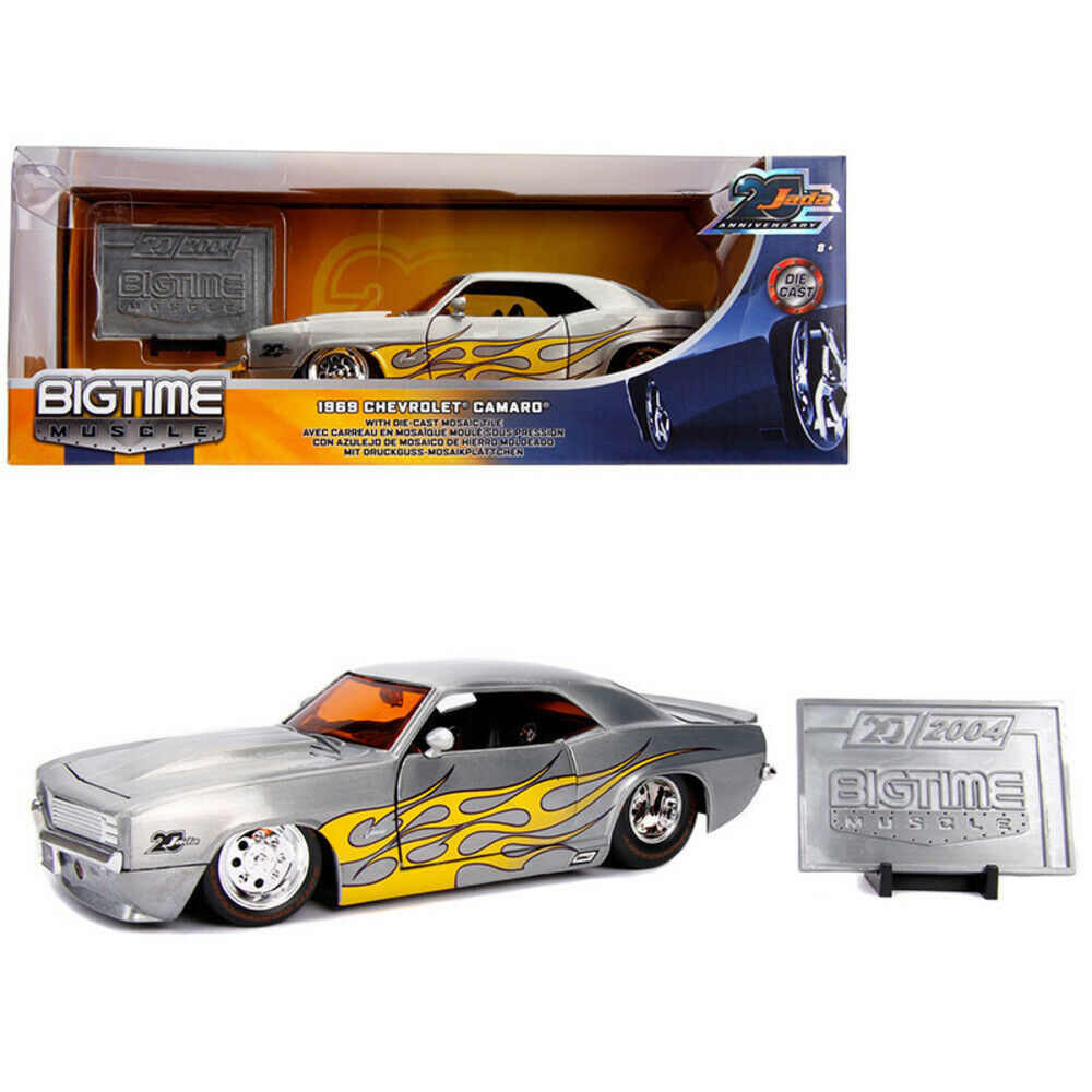 20th Anniversary Big Time Muscle 1969 Chevy Camaro 31073 Diecast 1:24 JADA