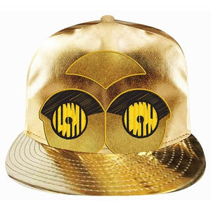 Star Wars C3PO Gold Metallic Cap