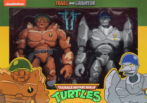 Teenage Mutant Ninja Turtles Trigg & Granitor 7
