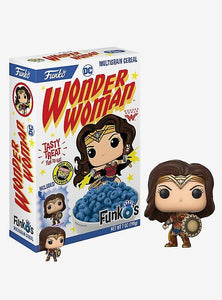 Funko DC Comics Wonder Woman FunkO's Cereal With Pocket Pop! Wonder Woman Cereal Hot Topic Exclusive