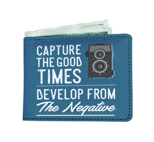 Capture The Good Times Men's Photography Wallet