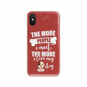 I Love My Dog Mobile Phone Case