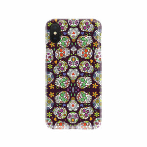 Day of The Dead Skulls Mobile Phone Case
