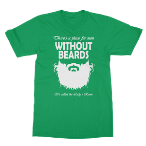 Men Without Beards Classic Adult T-Shirt