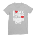 I Love My Husband and Gaming Classic Women's T-Shirt