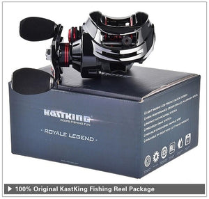 Baitcasting Sea and Freshwater Royale Legend Fishing Reel (8kg Drag)