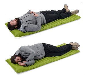 Fast Filling Inflatable Sleeping Mattress For Camping / Festivals