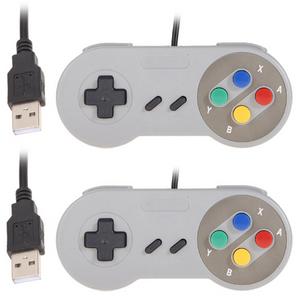 2x SNES USB Controller for PC and Mac